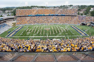 WVU vs East Carolina - September 11, 2009 - Halftime