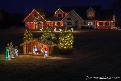 Noël et ses maisons décorées