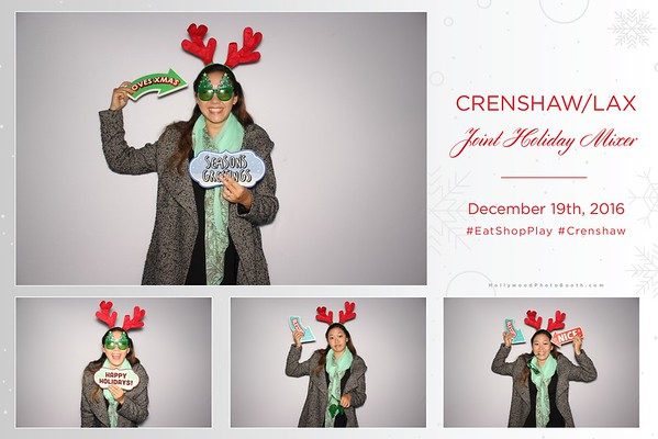 Crenshaw/LAX Joint Holiday Mixer