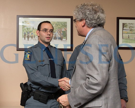 University Police New Officer Induction