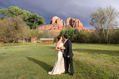 Amy & Mark at Crescent Moon Ranch