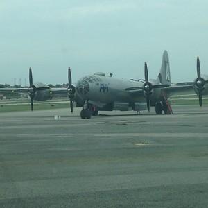 """B-29 """"FIFI"""" at KBHM 16 May 16"""