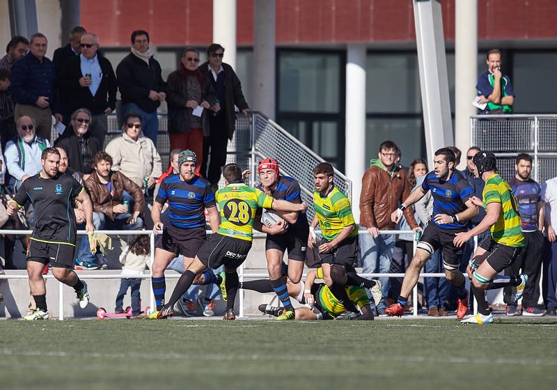 I.Industriales A vs C.R. Atlético Portuense: 19-36