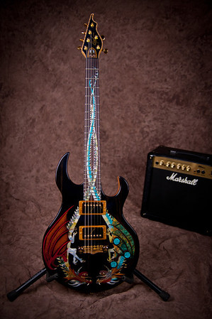 Dueling Dragons Guitar