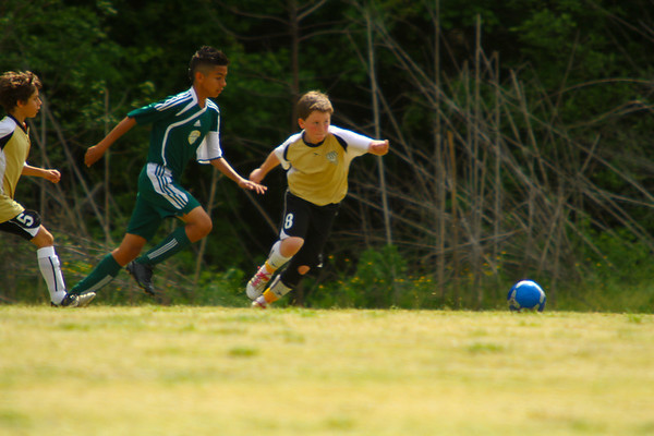 KV Eagles vs FCCA U12 CABARRUS BOYS SELECT @ 2012 First Strike Tournament