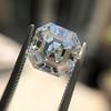 3.30ct Vintage Asscher Cit Diamond GIA J VS1 43