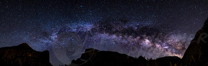 Half Dome Milky Way