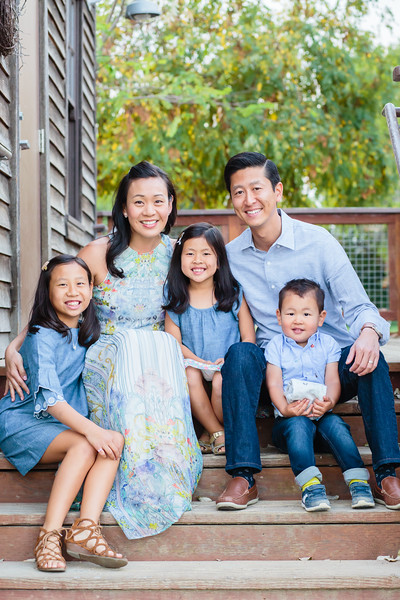 Chung Family October 2018