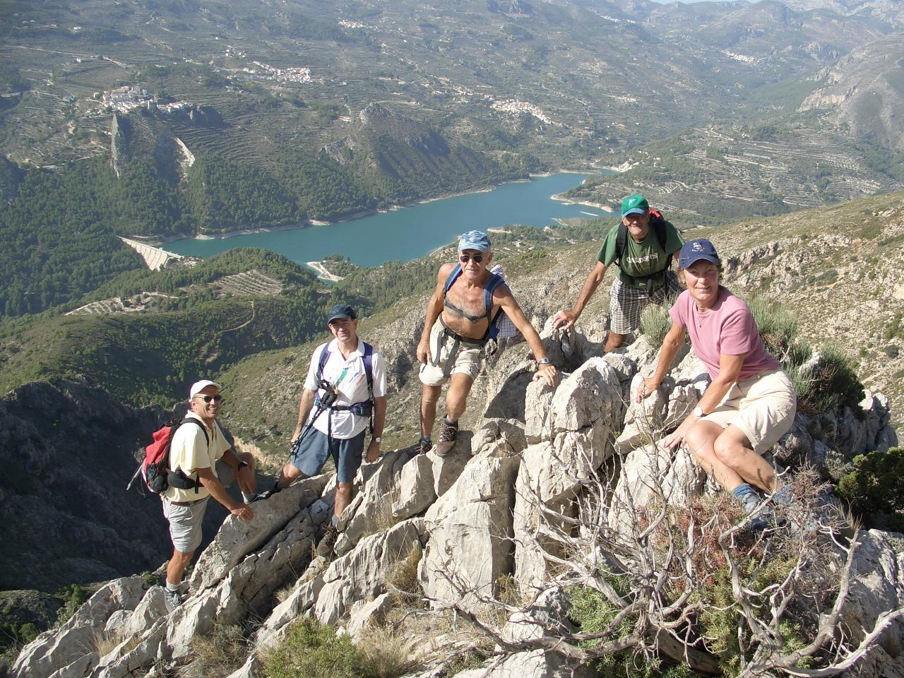 Guadalest to Aixorta scramble