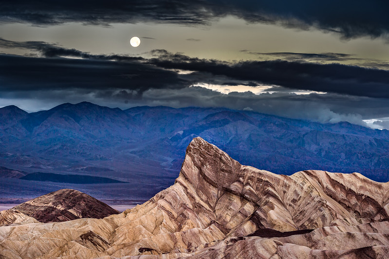 Manly Beacon Peak, Death Valley