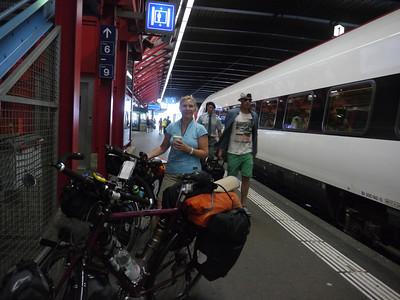 Sa 27.7.13: Tag 1 - ANREISE & München - Lain a. See, 70km