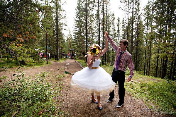 Julie & Adam's Rocky Mountain Wedding