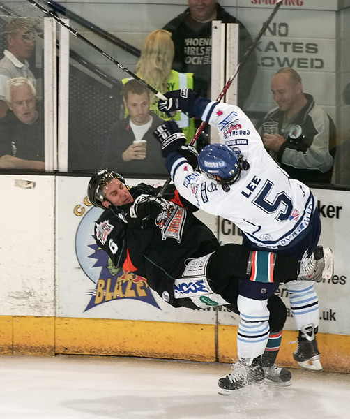 Blaze v Sheffield Steelers - 23/08/2009