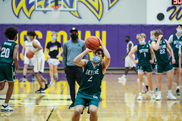 2021-04-27 Issaquah JV Boys Basketball vs Skyline