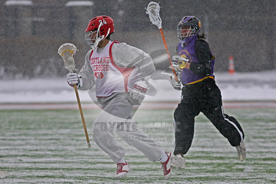 2/9/2014 - Spring Scrimmage - Iroquois Nationals vs. Cortland State University - Schoellkopf Field at Cornell University, Ithaca, NY