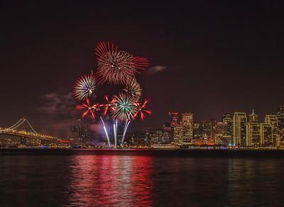San Francisco New Year's Eve Fireworks