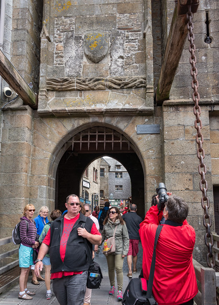 King's Gate - complete with portcullis and drawbridge