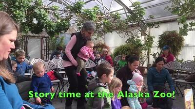 Story time at the Alaska Zoo!