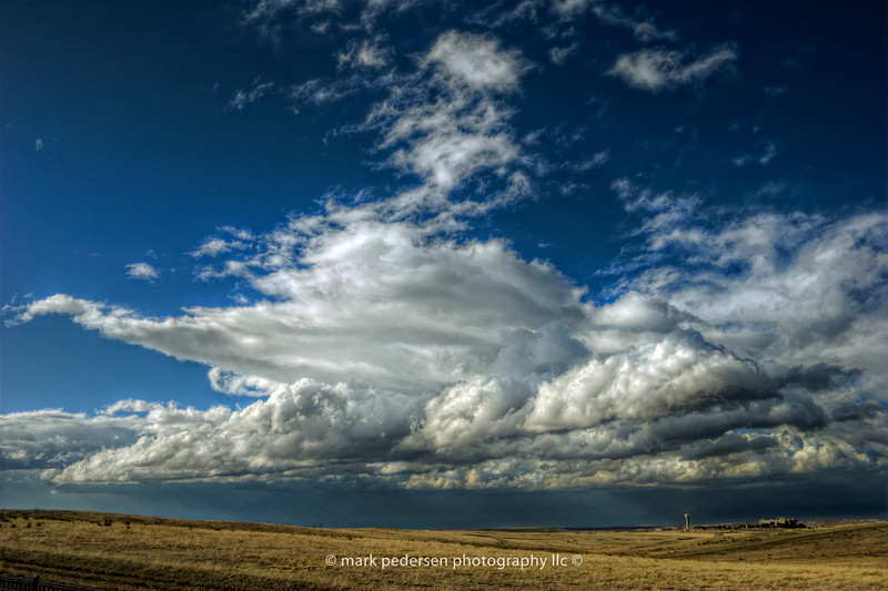 A good sized summer storm system, on the Colorado prairie.