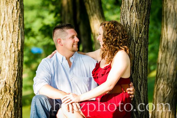 Sarah and Brandon Color Engagement Photos