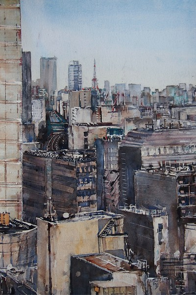 Gabrielle Moulding - Tokyo Skyline from Shibuya