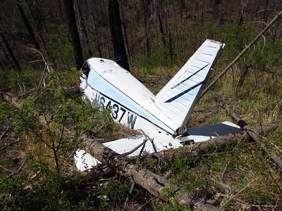 Jemez Mtns. - Dome Rd-FR 282-Plane Crash Hike & DS Ride  5-14-18