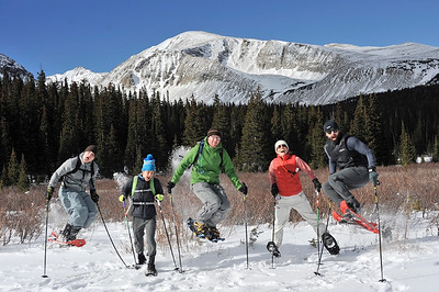 Snow Shoe at Brainard Lake