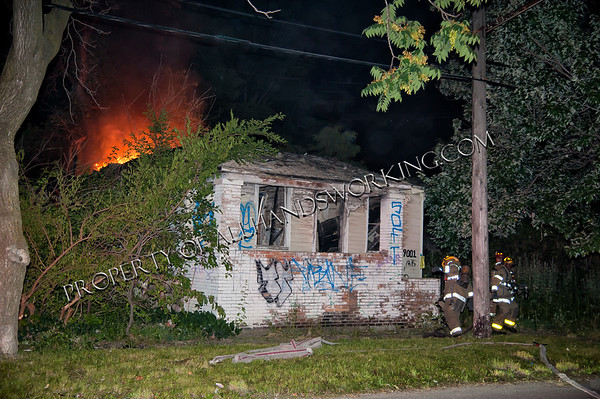 Detroit 9001 Melville and 262 So. Fortune two dwellings