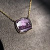 'Push Along' Purple Glass Pendant, by Seal & Scribe 10