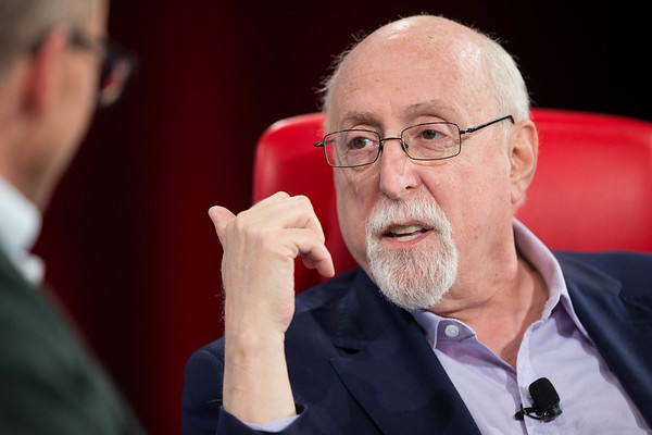 Walt Mossberg with Dick Costolo