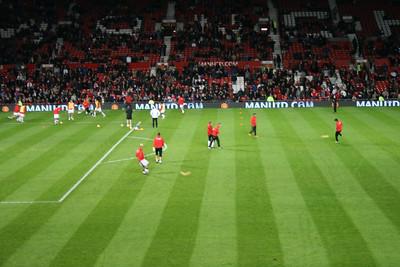 Manchester United v Newcastle United (Manchester) - January 2008