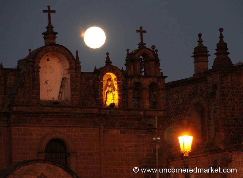 Full Moon in Cusco, Peru