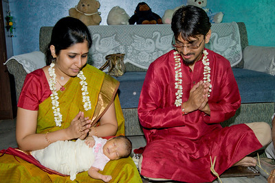 Punyavachanam & One month birthday!