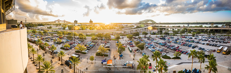 PANO 2017 10 Cars and Coffee - Everbank Field 113A - Deremer Studios LLC