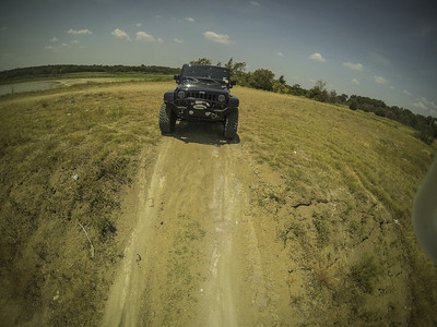 Aerial Jeep shots