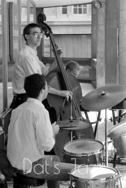 MICK HUTTON, STEVE ARGUELLES & DJANGO BATES