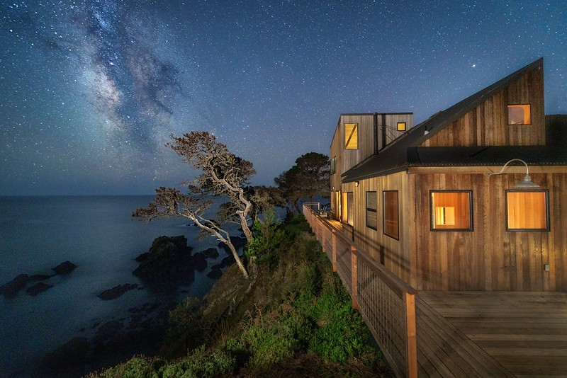 South Deck with Milky Way