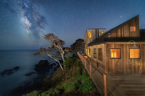 Anna and Larry Halprin Sea Ranch Residence