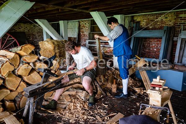 Heritage Skills Saturday at Fort Mifflin 8/2020
