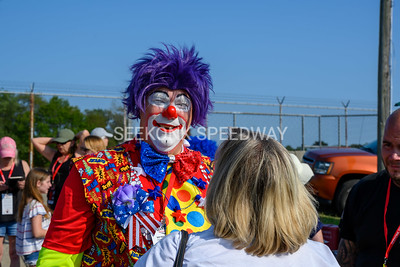 7.27.19 Around the Track with the Shriners Clown Unit