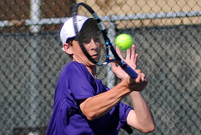 Division I district tennis