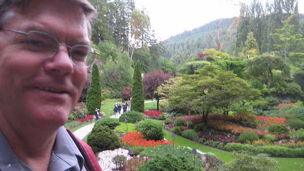 Alaska Cruise Day8: Tour Butchart Gardens in Victoria BC