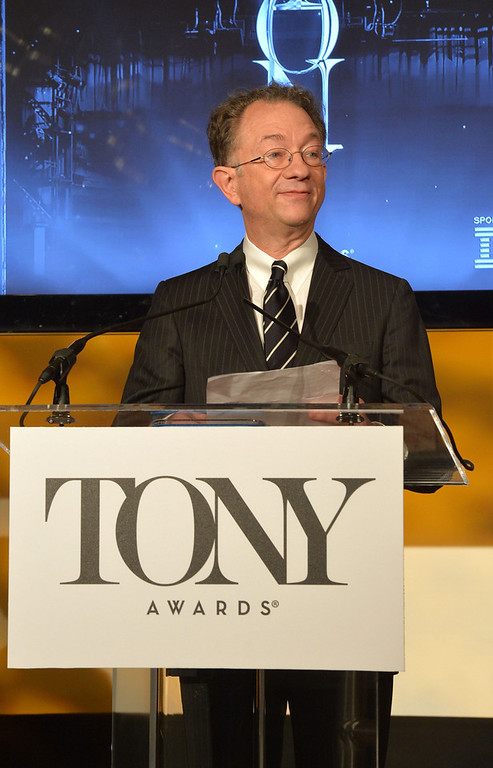 . Chairman, The American Theatre Wing William Ivey Long during the 2013 Tony Awards Nominations Ceremony at The New York Public Library for Performing Arts on April 30, 2013 in New York City.  (Photo by Mike Coppola/Getty Images for Tony Award Productions)