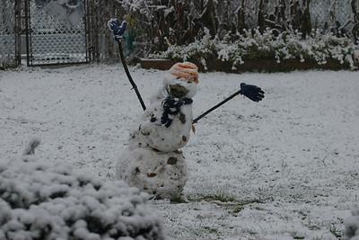 December snowman