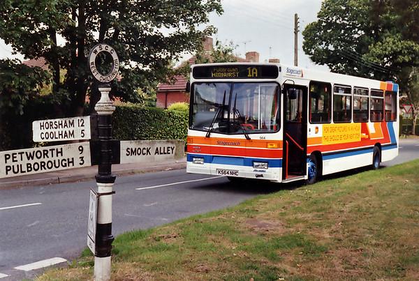 3rd September 1993: West Sussex
