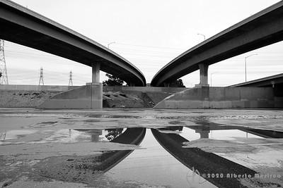 USA-CA - Los Angeles: Freeways
