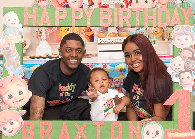 Braxton's 1st CoComelon Birthday Themed Party