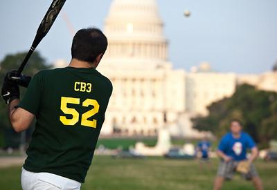 Softball on the Mall 7-30-09