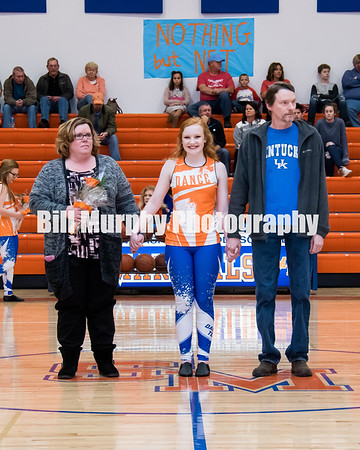 2017 - 2018 8th Grade Night At South Marshall Middle School For Girls Basketball & Dance Team