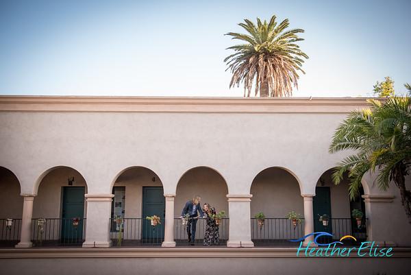 Sierra + Andrew Engagement | Balboa Park Engagement Photos | San Diego Wedding Photographer